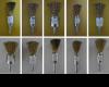 Escovas de a�o e caixas de mola p/ portas de a�o