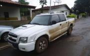 PM de Paracatu recupera S10 roubada em Goi�s e receptador � preso