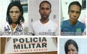 4 pessoas s�o presas por uso e envolvimento no tr�fico de drogas no Bela Vista II