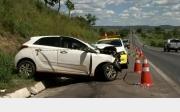 Acidente deixa quatro mortos e um ferido na BR-040 entre Cristalina e Paracatu