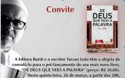 Tarzan Le�o lan�a mais um livro nesta quinta-feira, 26/03