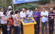 Prefeito Cond� inaugura mais 2 pontes e entrega trator � Comunidade Rural