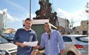 Marcos Oliveira quer mudan�as e mais seguran�a na Pra�a Juquita Vargas
