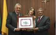 Igreja Presbiteriana, SAF e Instituto Prim�cias recebem homenagem na C�mara de Vereadores