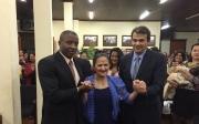Dona Helena da Mota Bastos recebe t�tulo de Cidadania Honor�ria de Paracatu