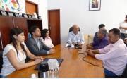 Prefeito assina contrato para in�cio das Obras do Corpo de Bombeiros e SAMU em Paracatu