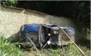 Grave acidente � registrado pela Pol�cia Militar Rodovi�ria Estadual na rodovia MG 188