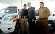 Governador entrega 850 viaturas para atendimento da Pol�cia Militar de MG em 247 munic�pios, Paracatu est� fora da lista.