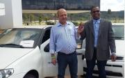 Vereador Z� Maria entrega ve�culo destinado ao atendimento na �rea de sa�de em Paracatu