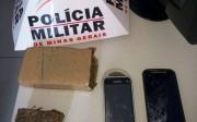 PM apreende aproximadamente 480 gramas de maconha com dois suspeitos na Vila S�o Jo�o Evangelista