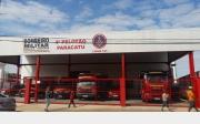 Corpo de Bombeiros � inaugurado em Paracatu e j� est� em funcionamento
