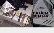 05 suspeitos s�o presos por tr�fico de drogas e com materiais possivelmente utilizados no garimpo