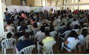 Congresso re�ne fi�is em final de semana de prega��es, adora��o e louvor no Centro Pastoral Rainha da Paz