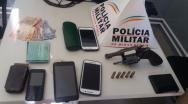 Quadrilha assalta resid�ncia no Bandeirantes e bandidos s�o presos na MG 188