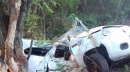 Uma pessoa morre e duas ficam feridas em acidente pr�ximo ao C�rrego Rico