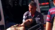 Moradores de rua brigam e homem é esfaqueado dentro de Fórum em Paracatu.
