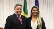 Marli Ribeiro se reúne com Anastasia e reivindica investimentos em segurança