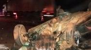 Colisão frontal durante ultrapassagem deixa cinco feridos na BR-040 em Paracatu
