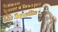 Festa de São Benedito segue até o dia 29 na Comunidade Nsa Sra do Rosário