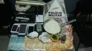 Polícia Militar prende traficante e fecha ponto de tráfico de drogas