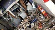 Criminosos explodem caixas eletrônicos em posto de combustíveis em Unaí