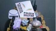 PM prende suspeitos que usavam Disk Bebidas e Moto Taxi para tráfico de drogas