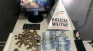 Polícia Militar prende traficante de drogas no bairro JK