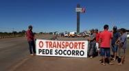 Caminhoneiros fazem segundo dia de protesto no Norte e Noroeste de Minas