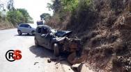 Grave acidente mata quatro pessoas na Serra da Contagem em Paracatu