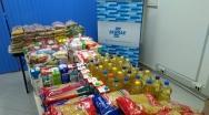 Rotary em Paracatu recebe doação de 300 kg de alimentos