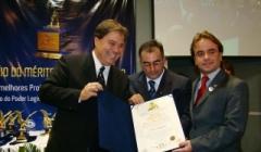 Eros Biondini recebe prêmio Mérito Legislativo