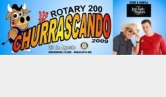 Rotary 200 promove Churrascando 2009