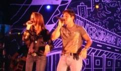 Show de Maria Cecíla e Rodolfo agita Paracatu