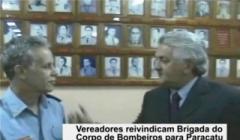 João Macedo reafirma necessidade do Corpo de Bombeiros em Paracatu