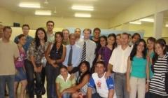 Estudantes visitam o NPJ da FINOM