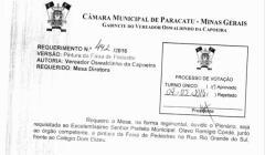 Divulgação de atos parlamentares - Mandato do Vereador Oswaldinho da Capoeira  -  Publicação em 24/05/2016 -