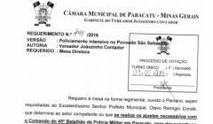 Divulgação de Atos Parlamentares - Mandato Vereador João Batista dos Santos - Publicação em 31/05/2016