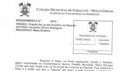 Divulgação de Atos Parlamentares - Mandato do Vereador Gilvan Rodrigues - Publicação em 23/06/2016