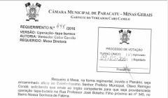 Divulgação de Atos Parlamentares - Mandato do Vereador Cabo Camilo - Publicação em 24/06/2016