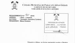 Divulgação de Atos Parlamentares - Mandato do Vereador Juscelino Pires - Publicação em 24/06/2016