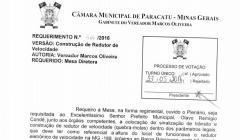Divulgação de Atos Parlamentares - Mandato do Vereador Marcos Oliveira - Publicação em 24/06/2016