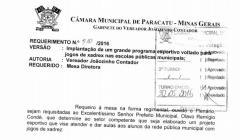 Divulgação de Atos Parlamentares - Mandato do Vereador João Batista dos Santos - Publicação em 24/06/2016