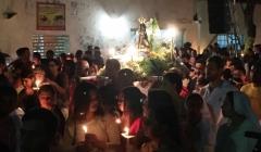 Milhares acompanham a prociss�o do Dia da Padroeira do Brasil em Paracatu