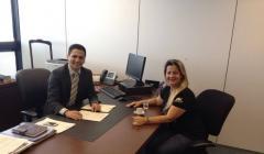 Vereadora busca investimentos para a preven��o e combate �s drogas em Paracatu