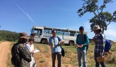 Alunos de Geologia fazem mapeamento-base topográfico entre Paracatu e Guarda-mor