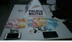 PM prende suspeitos de tráfico no bairro Prado