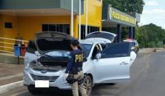 PRF apreende drogas e recupera carro roubado na BR-040 em Paracatu