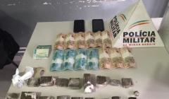 Polícia prende traficantes no Residencial Sarah Kubitscheck em Paracatu