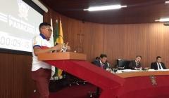 Radialista vai a Câmara pedir apoio ao esporte e construção de Estádio Municipal
