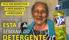 Semana do Detergente! Segunda fase da Campanha do Lar São Vicente começa hoje